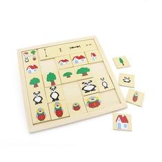 """Классификация """"Сравни и подбери"""" 1317 Lam Toys (18 деталей)"""
