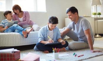 Пять домашних уроков для начальных классов