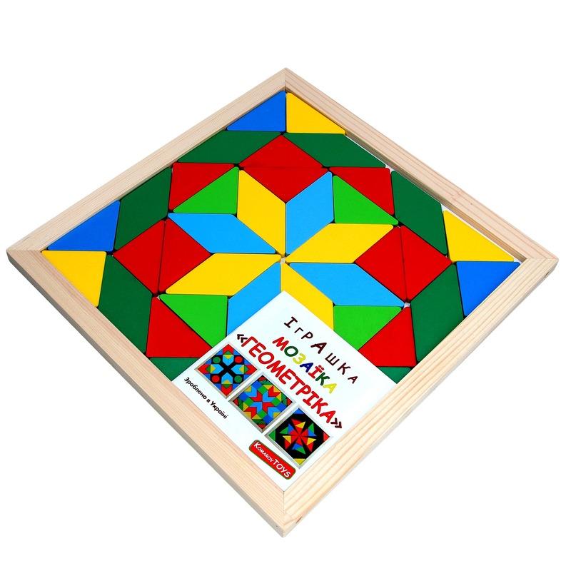 Мозаика Геометрика 2 фигуры Komarovtoys