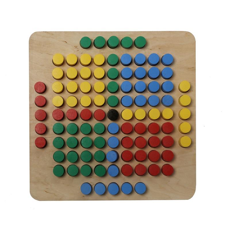 Мозаика 101 элемент Komarovtoys