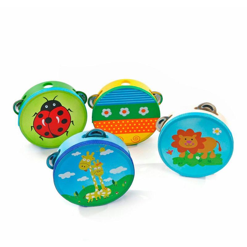 Бубон 8 видов Игрушки из дерева