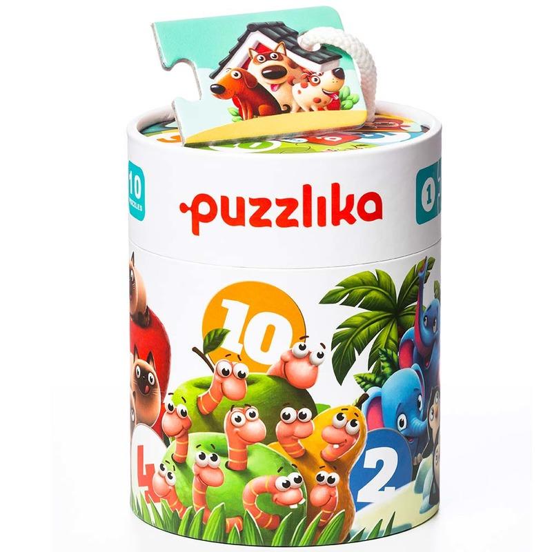 """Пазлы """"Мои друзья"""" 13005 Puzzlika (20 деталей)"""