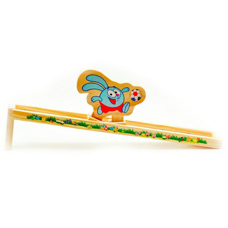 Деревянная Горка Крош Игрушки из дерева