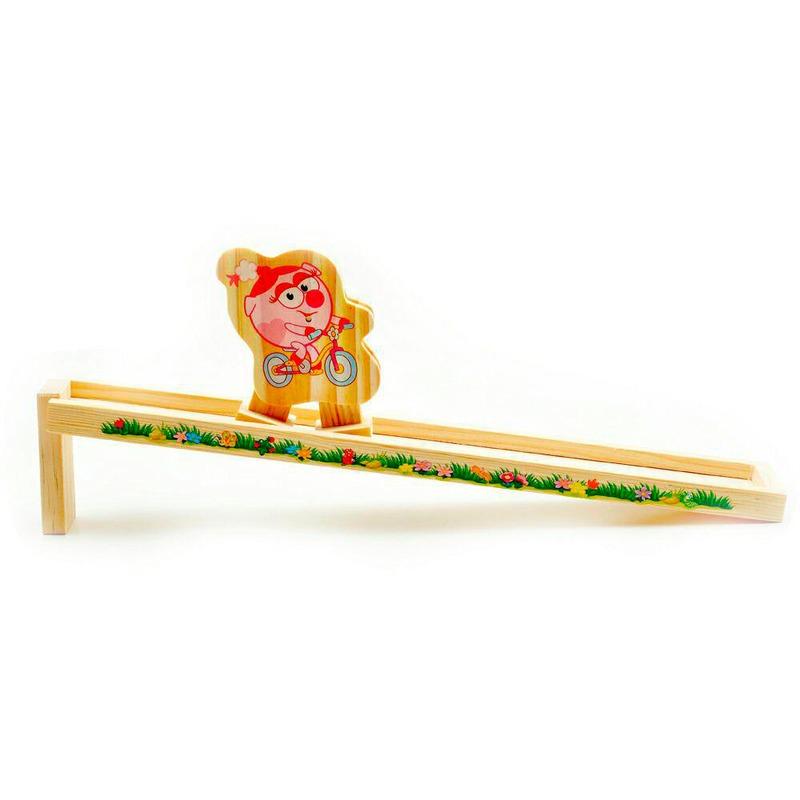 Деревянная Горка Нюша Игрушки из дерева