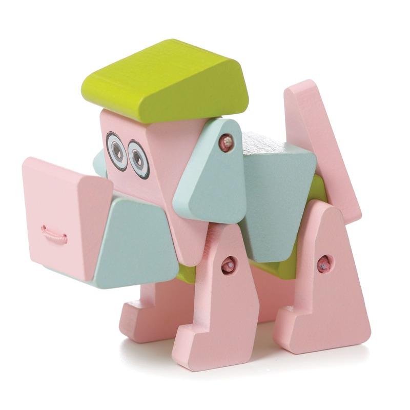 """Деревянная игрушка """"Собачка акробат LA-1"""" Cubika"""