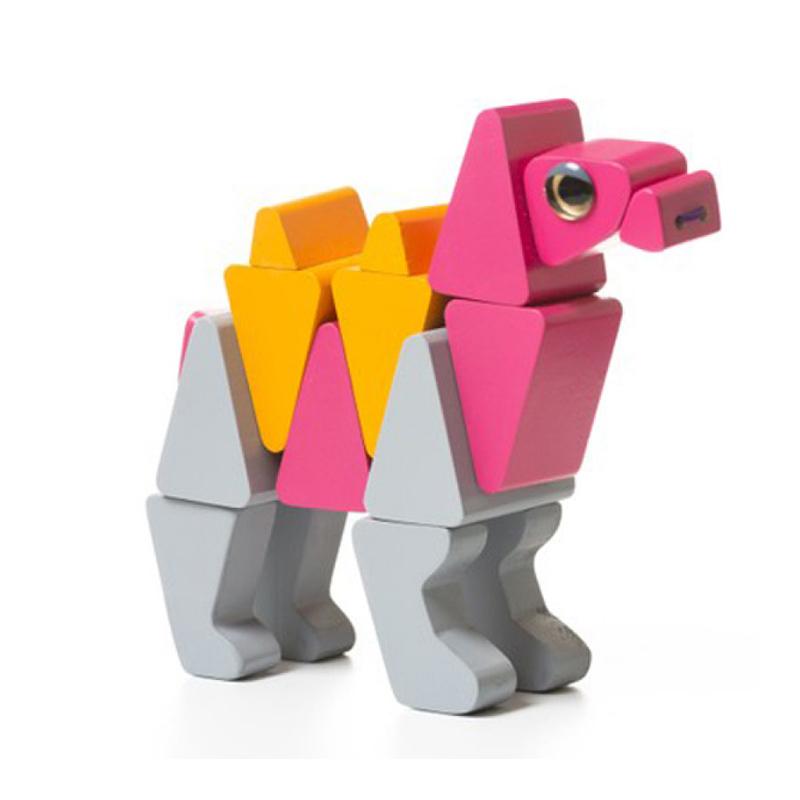 """Деревянная игрушка """"Верблюд акробат LA-3"""" Cubika"""