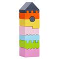 "Деревянная башня монтессори ""LD-3"" Cubika (8 деталей)"