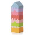 """Деревянная башня """"LD-4"""" Cubika (8 деталей)"""