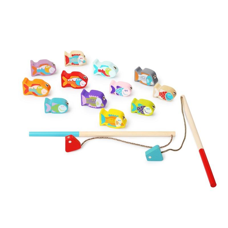 Деревянная развивающая игрушка Рыбалка ТМ CUBIKA 14 деталей