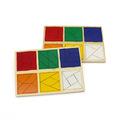 """Деревянные планшеты """"Сложи квадрат Никитиных"""" 3-й уровень 1515/3 Lam Toys (65 деталей)"""