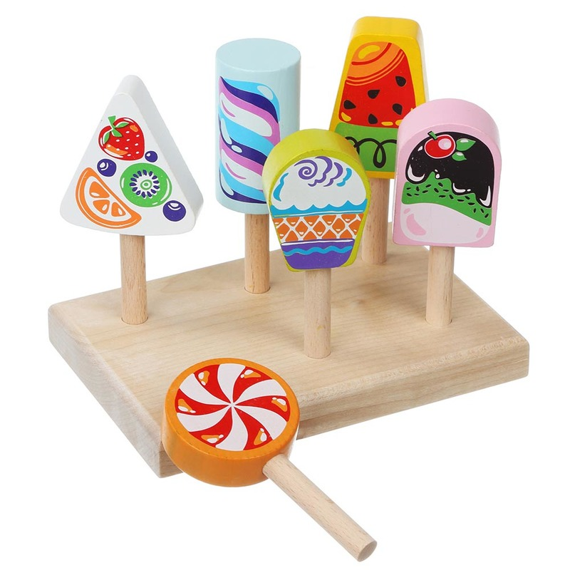 """Детский набор """"Ice-cream"""" 14330 Cubika (7 деталей)"""