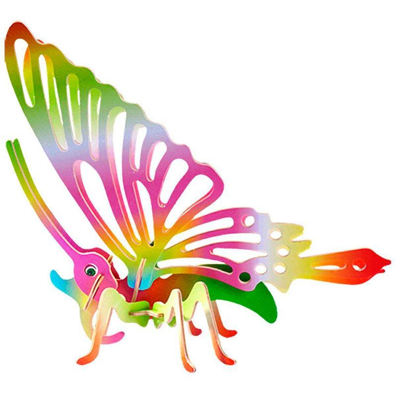 Деревянный конструктор Бабочка Игрушки из дерева