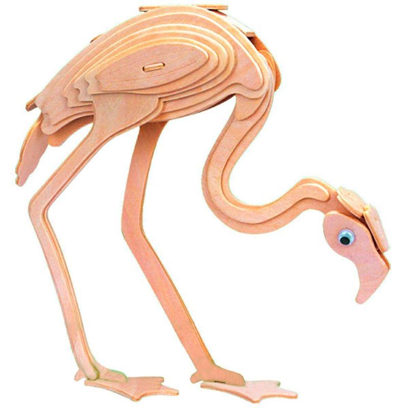 Деревянный конструктор Фламинго Игрушки из дерева