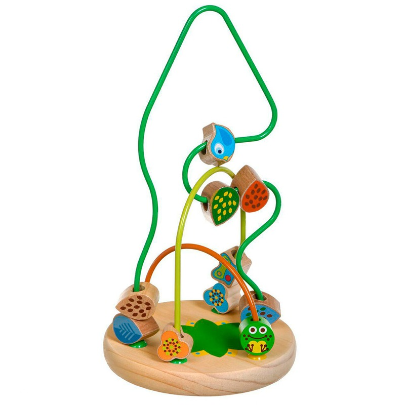 Деревянный Лабиринт Чудо-дерево Игрушки из дерева