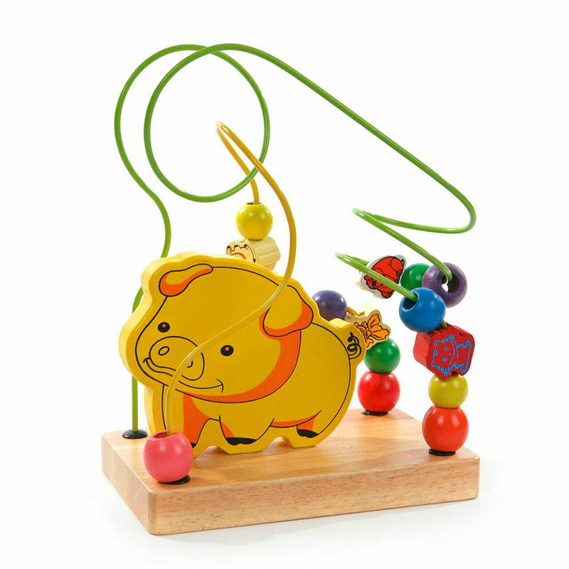 """Лабиринт """"Свинка"""" Д114 Игрушки из дерева"""