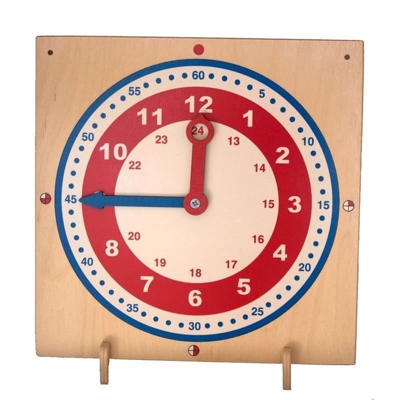 """Деревянный планшет """"Часы"""" Lam Toys"""