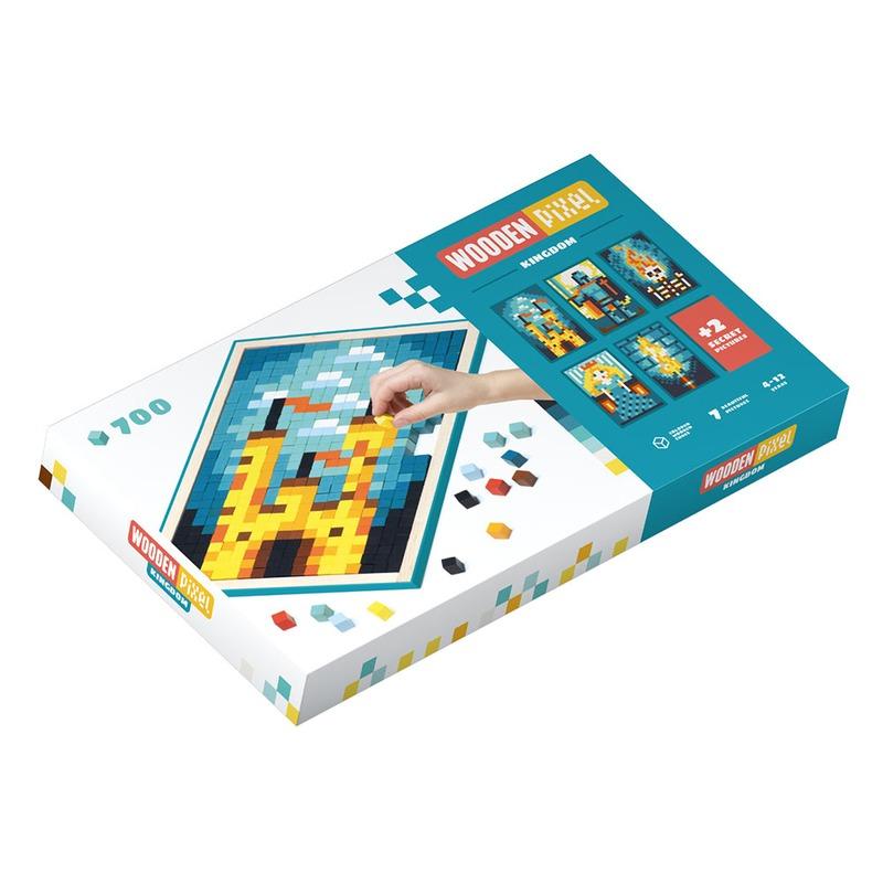 Мозаика «Wooden pixel 8» Королевство Cubika 14941 (700 деталей)