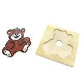 Детская мозаика Медведь 1480-4 Lam Toys (7 деталей)