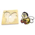 Детская мозаика Пчела 1480-5 Lam Toys (6 деталей)