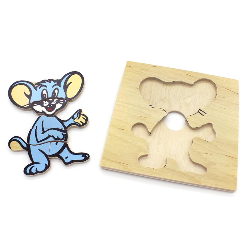 Детская мозаика Мышка 1480-8 Lam Toys (7 деталей)