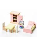 """Детский набор """"Мебель 2"""" Cubika 12640 (16 деталей)"""