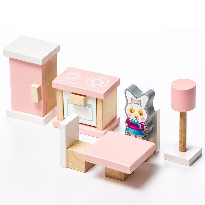 """Детский набор """"Мебель 3"""" Cubika 13975 (10 деталей)"""