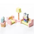 """Детский набор """"Мебель 4"""" Cubika 15030 (9 деталей)"""