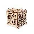 Деревянный 3D пазл Ugears Хранилище дайсов 70072 (62 детали)
