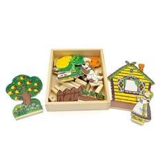Домашний театр репка 5031 Lam Toys (13 деталей)