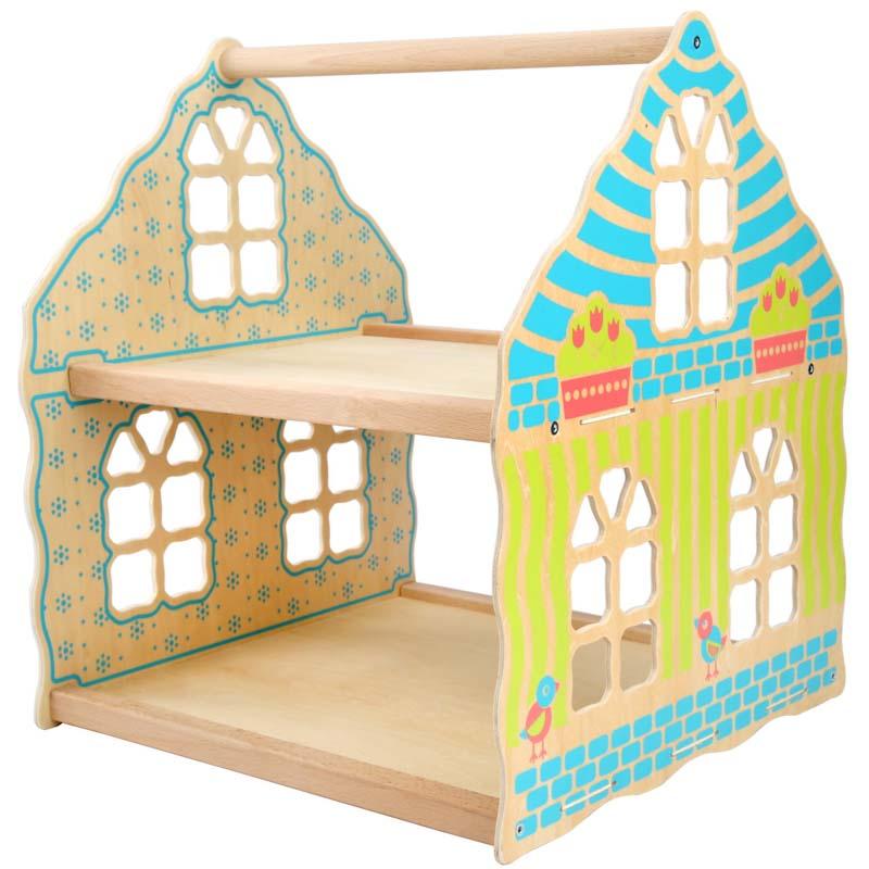 Двухэтажный кукольный дом LL183 Lucy&Leo