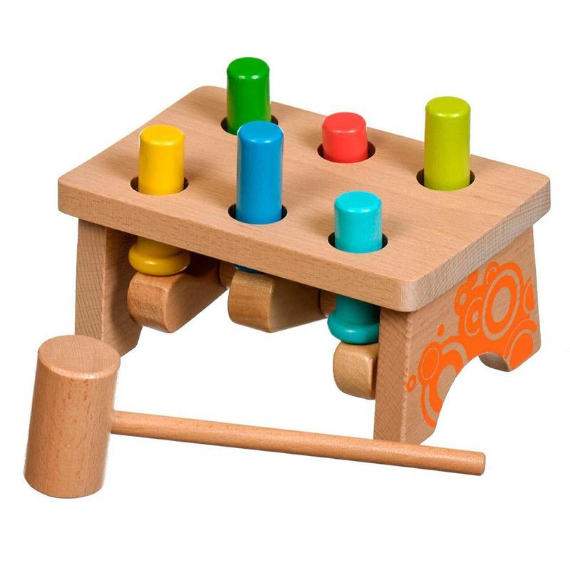 Гвозди-перевертыши 2 Игрушки из дерева 6 деталей