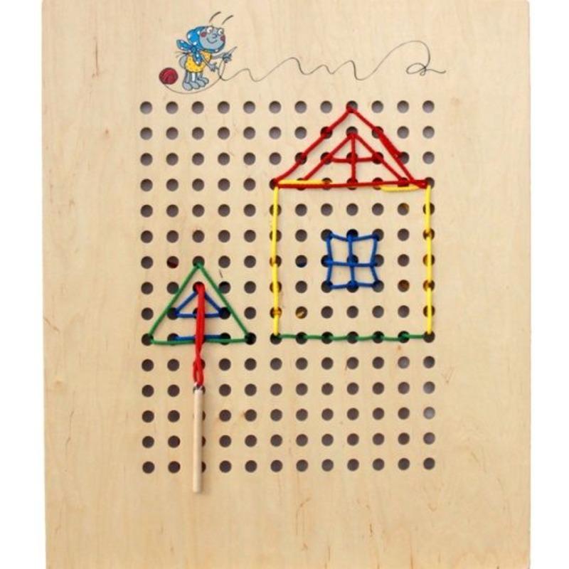 """Игровая панель """"Шнуровка вышивание"""" Lam Toys"""