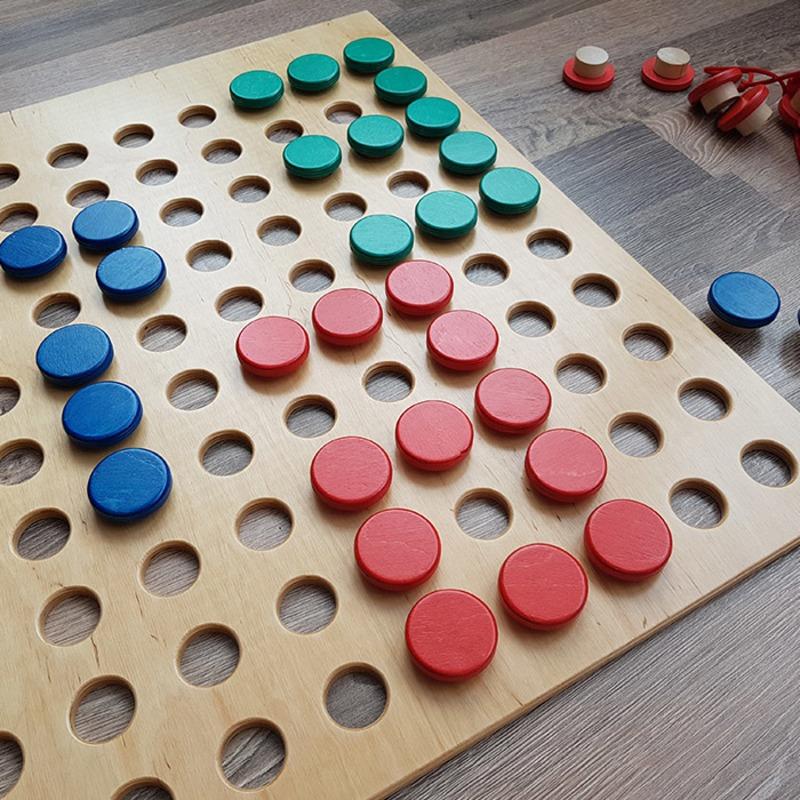 """Игровая панель """"Слова и Цифры"""" Lam Toys"""