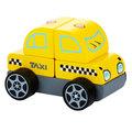 Машинка Taxi LM-6 Cubika (5 деталей)