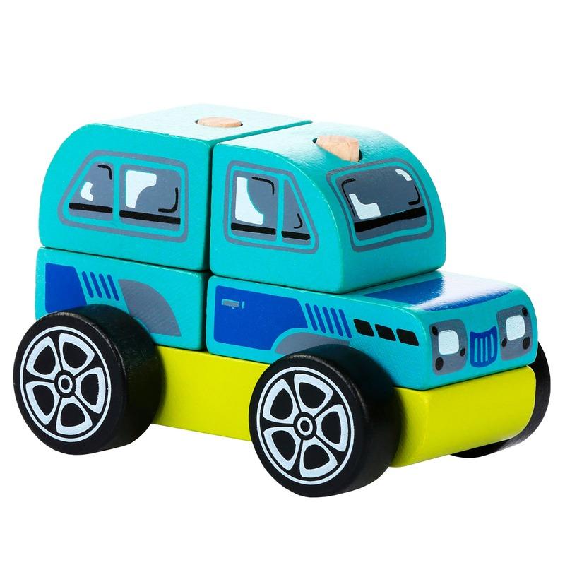 Машинка Джип LM-9 Cubika (5 деталей)