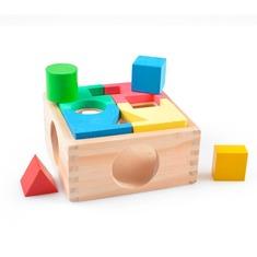 Интересная Коробка Игрушки из дерева 8 деталей