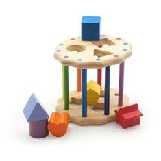 Интересный Цилиндр Игрушки из дерева 6 деталей