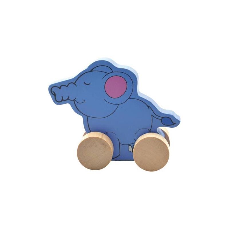 "Каталка ""Слон"" Д300 Игрушки из дерева"