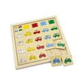"""Классификация """"Найди гараж"""" 1316 Lam Toys (18 деталей)"""
