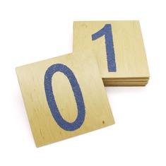 """Комплект тактильных панелей """"Цифры"""" 472 Lam Toys (10 деталей)"""