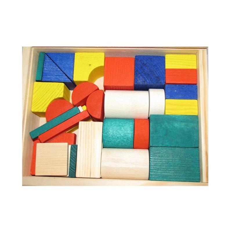 """Конструктор """"Строитель"""" малый Lam Toys (36 деталей)"""