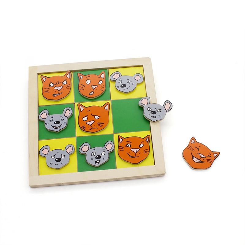 """""""Крестики-нолики. Кошки-мышки"""" 1322 Lam Toys (20 деталей)"""