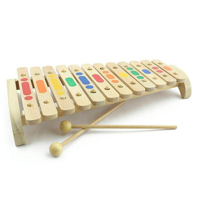 Ксилофон 12 тонів Іграшки з дерева