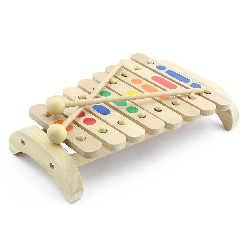 Ксилофон 8 тонов Д045 Игрушки из дерева