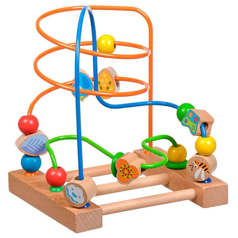 Лабиринт 3 Игрушки из дерева