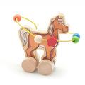Лабиринт-каталка Конь Игрушки из дерева