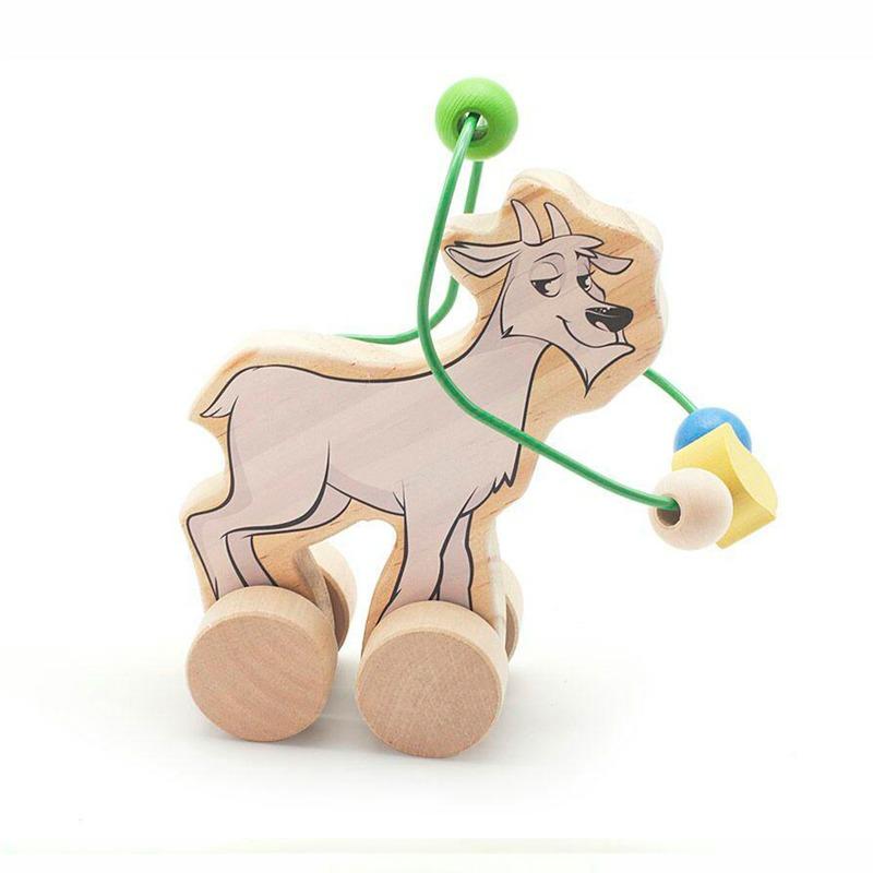 Лабиринт-каталка Козел Игрушки из дерева