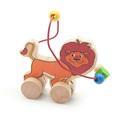 Лабиринт-каталка Лев Игрушки из дерева