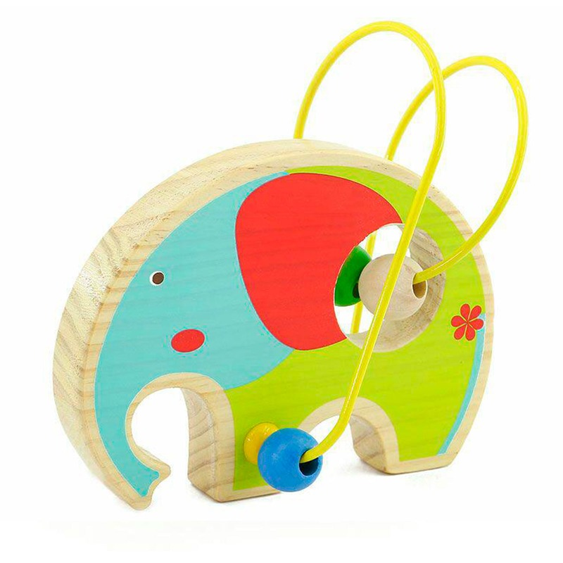 Лабиринт с бусинками Слон Lucy&Leo