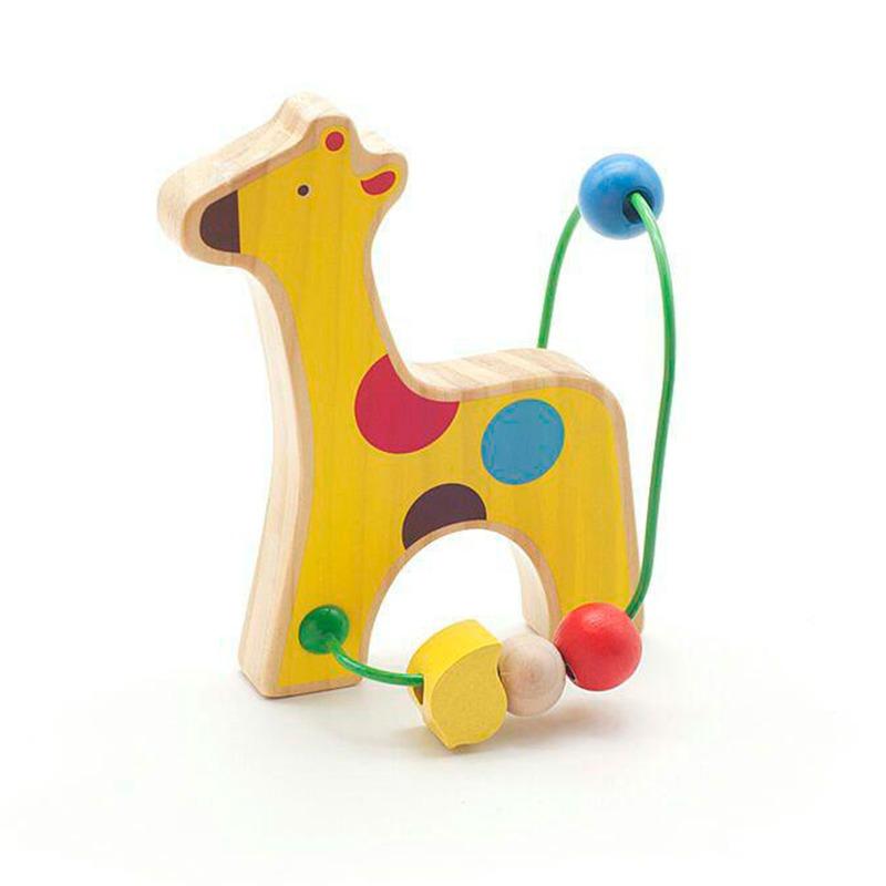 Лабиринт с бусинками Жираф Lucy&Leo